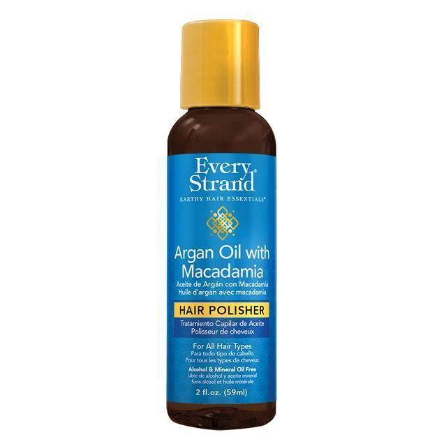 Every Strand Argan Oil With Macadamia Hair Polisher 2oz Macadamia Hair Products Argan Oil Oils