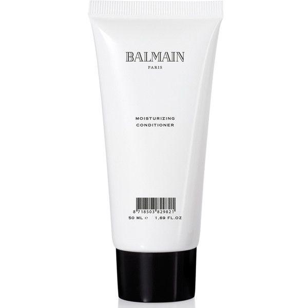 Balmain Hair Moisturising Conditioner (50ml) Travel Size) (530 RUB) ❤ liked on Polyvore featuring beauty products, haircare, hair conditioner, beauty, fillers, white fillers, balmain perfume, travel size perfume and balmain