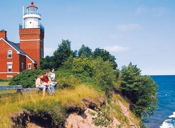 Big Bay Point Lighthouse Bed & Breakfast, Lake Superior, Michigan