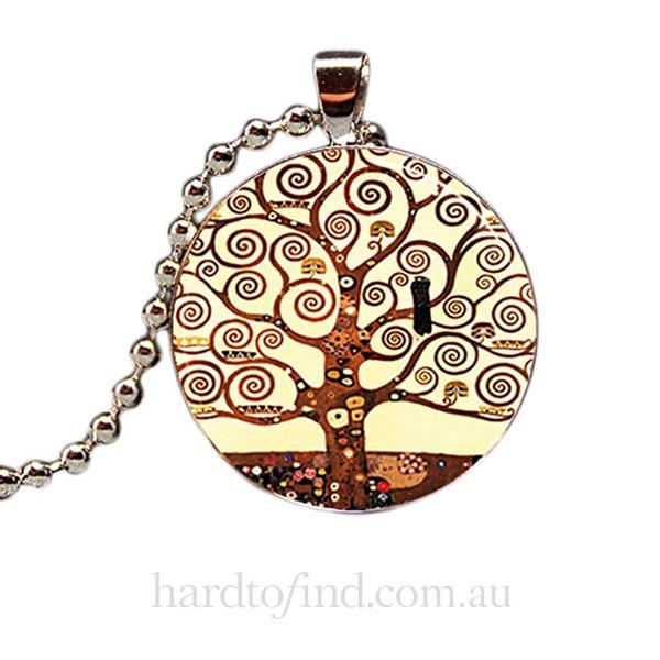Klimt Tree Of Life Pendant,  Hug Me Harry $23