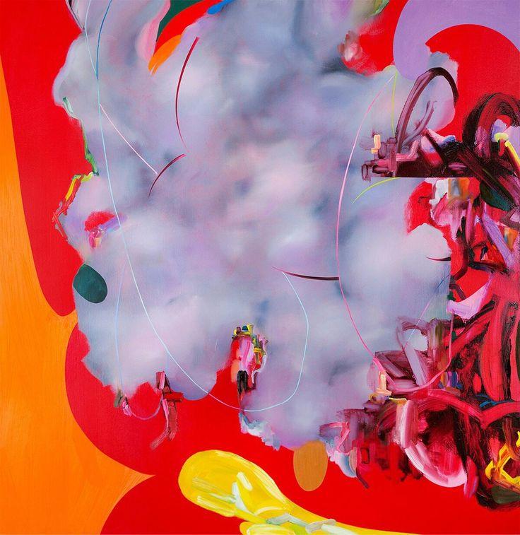 #Mark #MullinЕго  Его работы просто фонтан цвета и графичности!