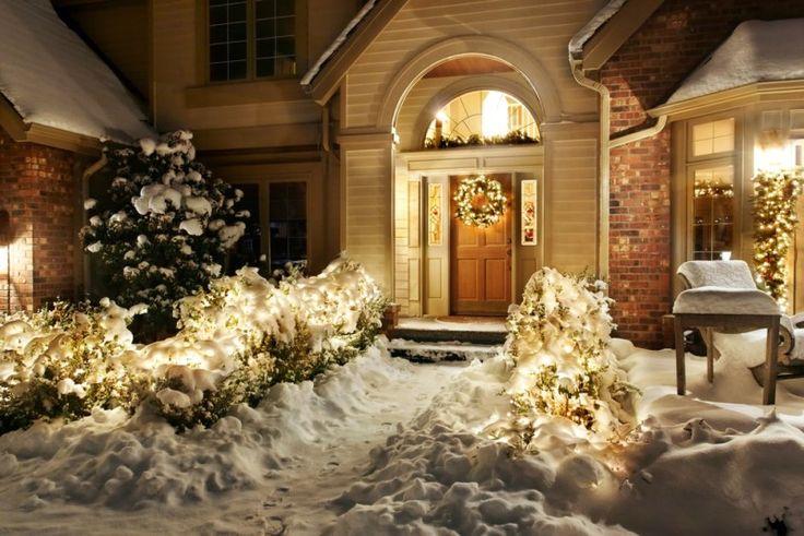 how to make exterior christmas decorations