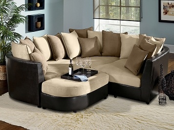 Roomstore.com - Poole Upholstery 4 Pc. Sectional | For the Home ...