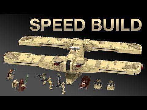 Lego C 9979 Landing Craft Moc Speed Build Star Wars
