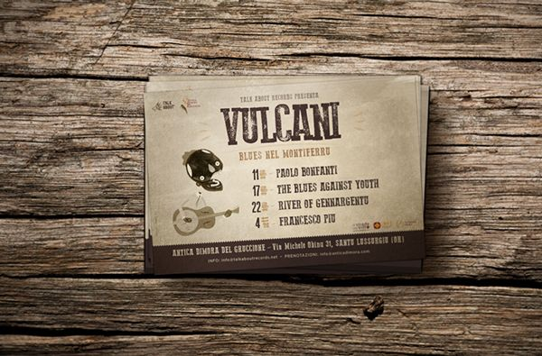 VULCANI | Blues nel Montiferru on Behance