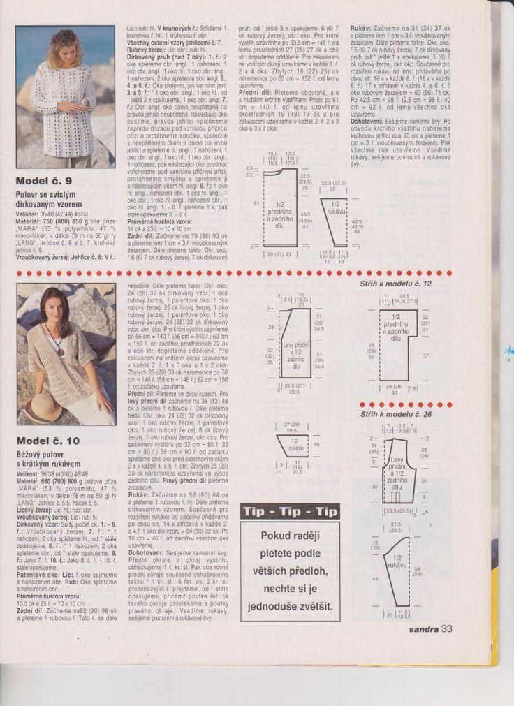 san 1999-78 | KLUB RUČNÍHO PLETENÍ -víc než vzory a návody pro vaše šikovné jehlice