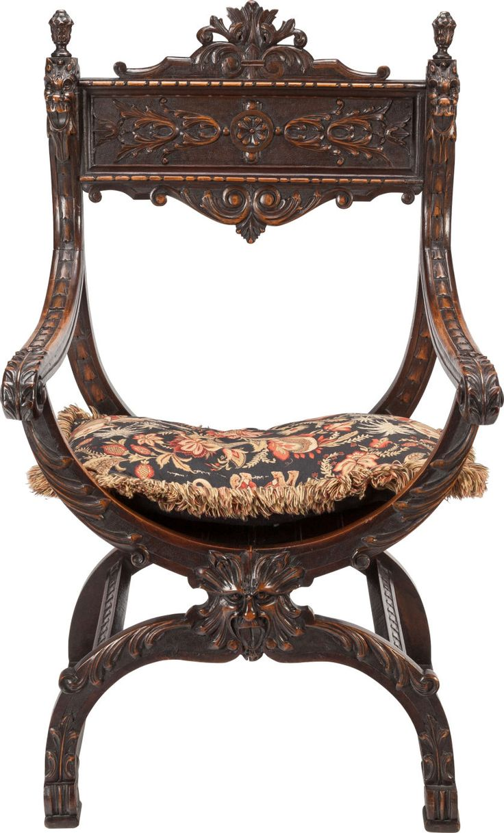 Design glossary savonarola and dante chairs apartment therapy - A Renaissance Revival Walnut Armchair Late 19th Century