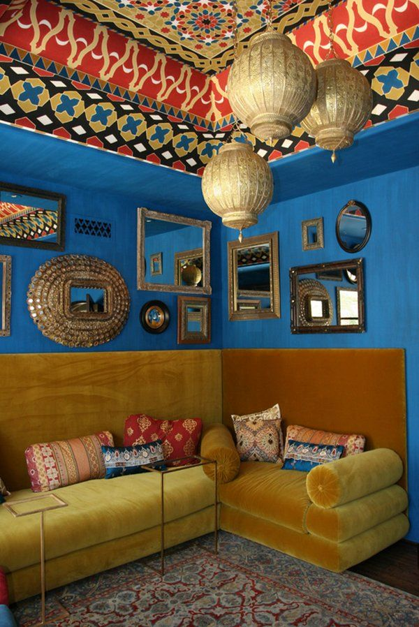 Not sure this works for me, but it's interesting.  Bohemian Interiors