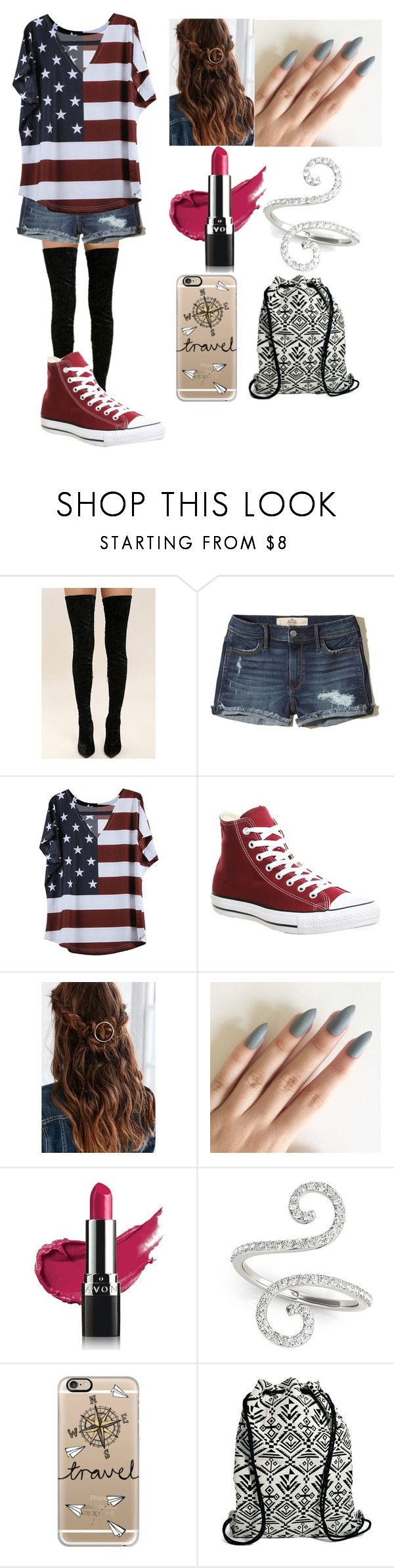 """#729"" by lucy-smith-2 ❤ liked on Polyvore featuring Cape Robbin, Hollister Co., Converse, Urban Outfitters, Avon, Allurez, Casetify, Pieces and plus size clothing"