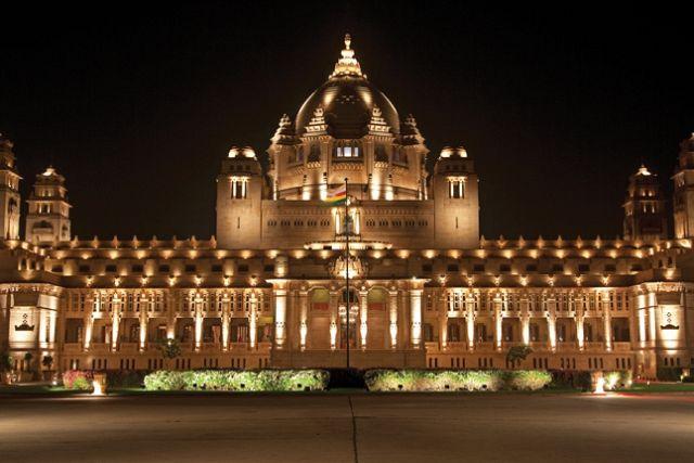 Umaid Bhawan Palace, Jodhpur, Rajasthan, India