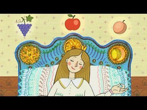 Magyar népmesék: Szóló szőlő, mosolygó alma, csengő barack - YouTube