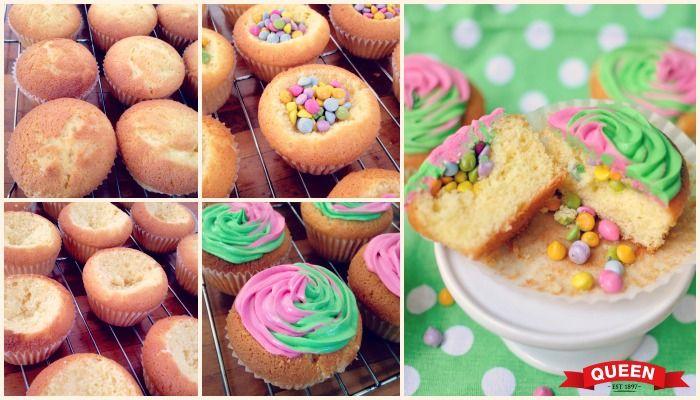 Piñata cupcakes - Queen Fine Foods
