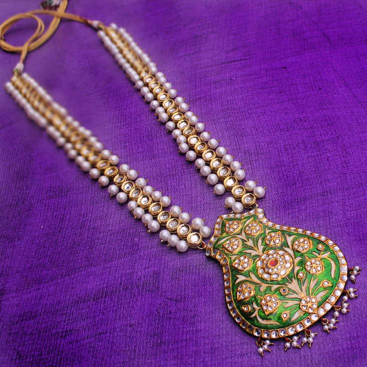 AANCHAL PENDANT NECKLACE @ Indiatrend For $142.99USD