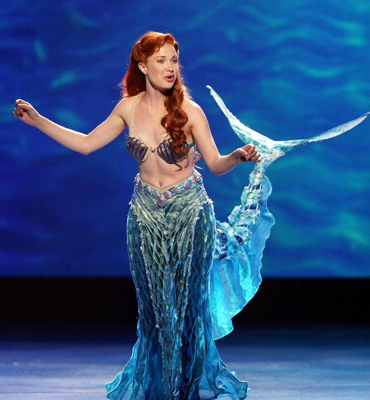 "Actress Sierra Boggess performs from ""The Little Mermaid"" onstage during the 62nd Annual Tony Awards held at Radio City Music Hall on June 15, 2008 in New York City. (Andrew H. Walker, Getty Images)"