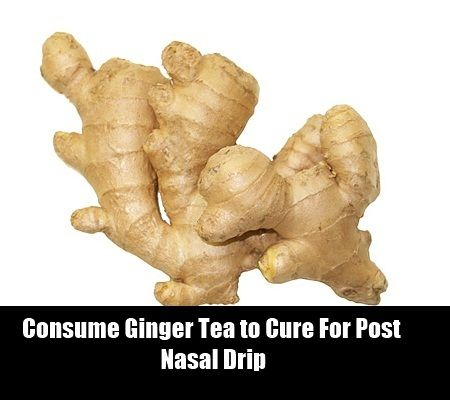 Best Natural Cure For Post Nasal Drip