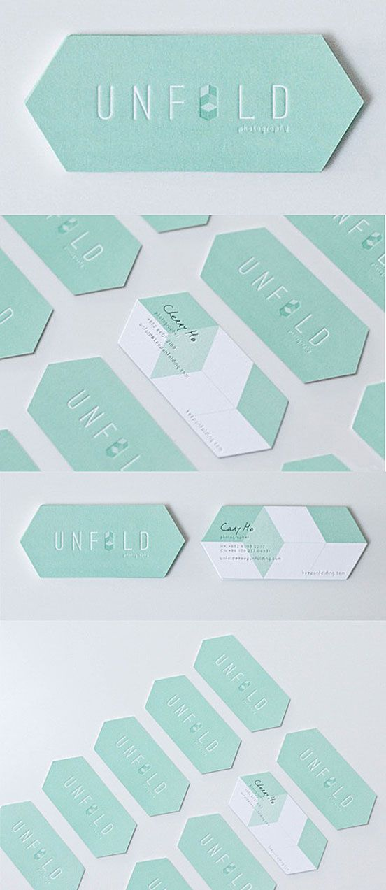 Beautiful Die Business Card | Business Cards | The Design Inspiration