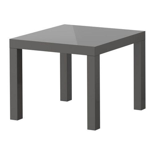 LACK Beistelltisch IKEA Der Hochglanzlack reflektiert das Licht und sorgt für effektvolle Spiegelung auf der Möbeloberfläche. Einfache Monta...
