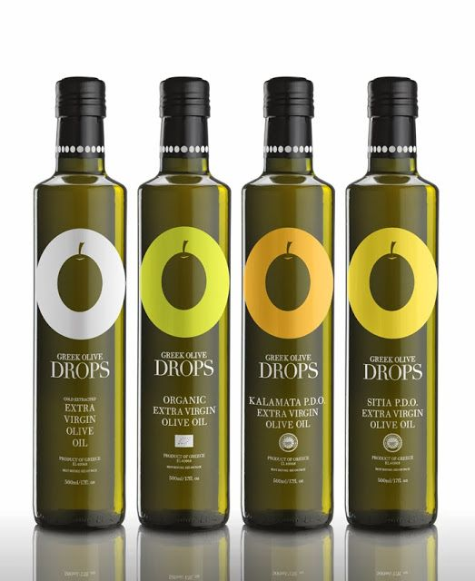 Greek Olive Drops on Packaging of the World