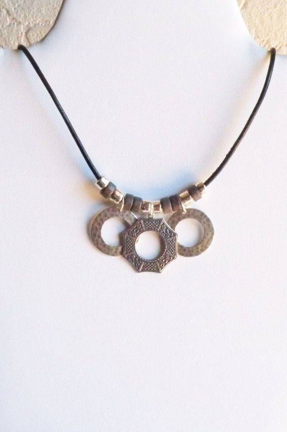 Asian Window Pendant Necklace by ArKaysCreations on Etsy, $28.00