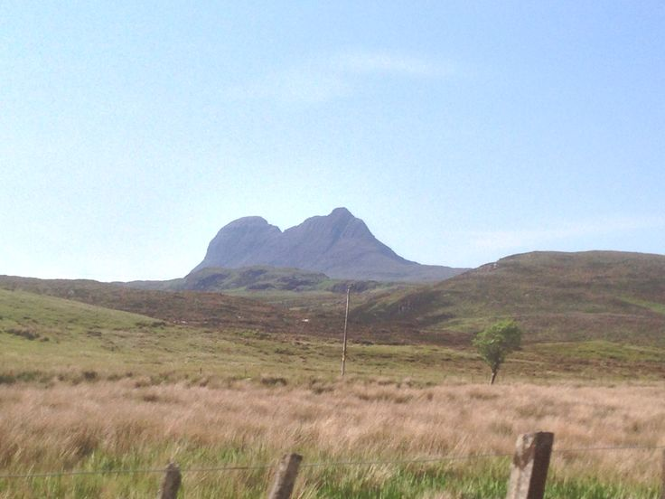 Driving to Lochinver caught this snap of Suilven on a beautiful clear day.