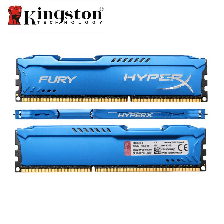 buy kingston hyperx fury memoria memory dimm ddr3 4gb 8gb 1866mhz ram cl10 1 5v 240 pin sdram single #kingston #memory