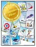 Les olympiades d'hiver, activités pour enfants. Attention les fiches ne sont disponibles que sur abonnement. Mais déjà des idées à prendre dans la partie publique