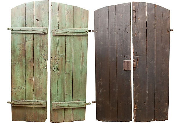 Antique French Door IV on OneKingsLane.comFrench Doors, Garden Gates, Cottages Ideas, Gardens Gates, Antiques French, French Country Style, House Stuff, Gardens House, European Doors
