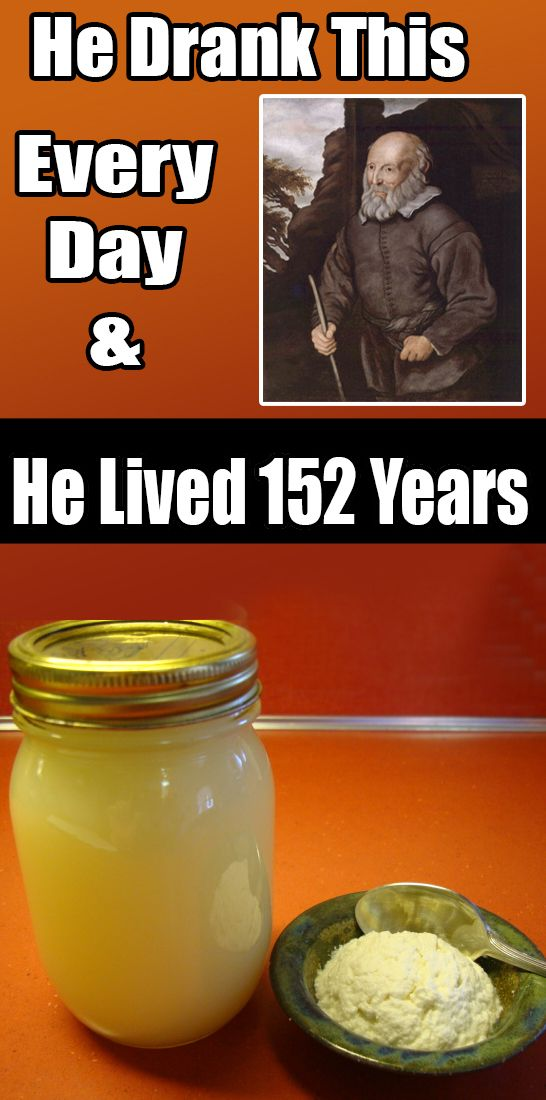 He Drank This Every Day and He Lived 152 Years