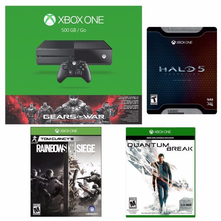 Daily Deals: Xbox One With $100 Worth of Free Games $10 Off PS Plus Quantum Break Rayman Legends  An Xbox One with $100 Wirth of Games for Free  Here's an Xbox One with Quantum Break Gears Halo 5 and Rainbow Six Siege. Gears is normally included with this bundle but you're getting $100 worth of games ($30 each for Halo and Rainbow $40 for Quantum Break) for no additional cost.  Save $10 on Your Next Year of PS Plus   Continue reading  https://www.youtube.com/user/ScottDogGaming…