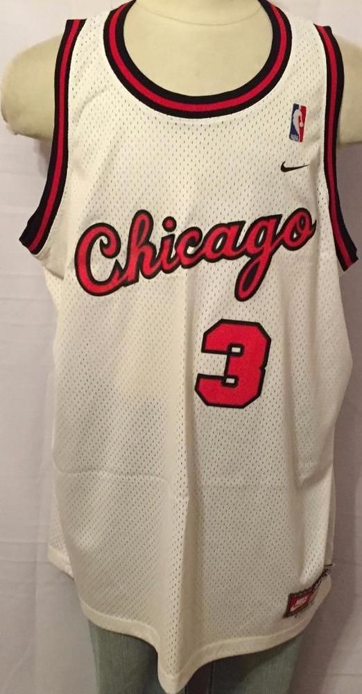 #Chicago Bulls Tyson Chandler #3 Vintage Nike #Basketball Jersey Mens 3xl Nwot from $49.95