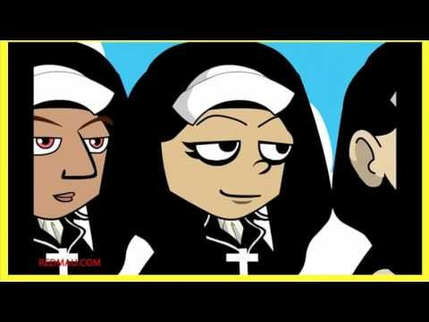 Las monjas y el loro adivino - chiste corto bueno animado - YouTube