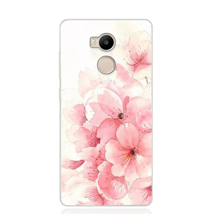 Flower Series Xiaomi Redmi 4A Case Cover Redmi 4 Pro Case Soft Silicon TPU Back Cove for Xiaomi Redmi 4X 4A 4 Pro Case Cover