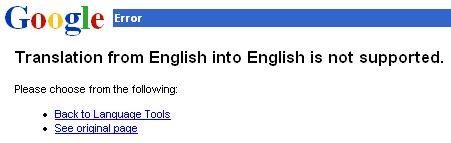 google language proxy server