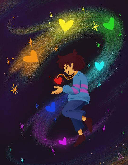 Undertale - Frisk - Stay Determined