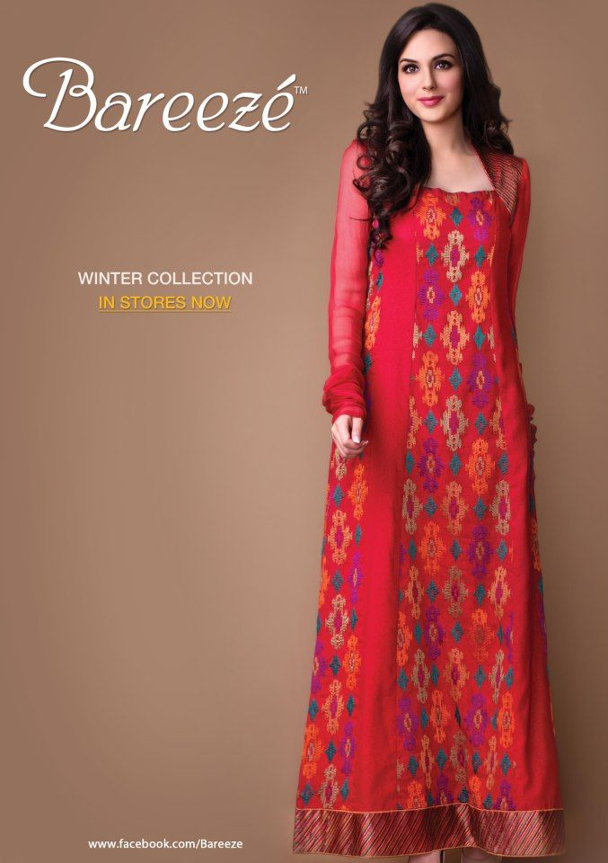 Bareeze New Stylish Winter Arrivals 2012-13 For Women (6)