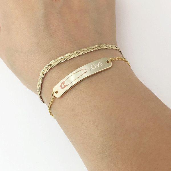 Charm Bracelet - white cattelya bracelet by VIDA VIDA k7Y0JPg