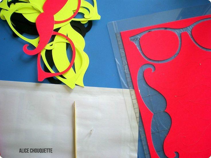 RéCréation 3 : DIY Photo Booth pour Soirée fluos !