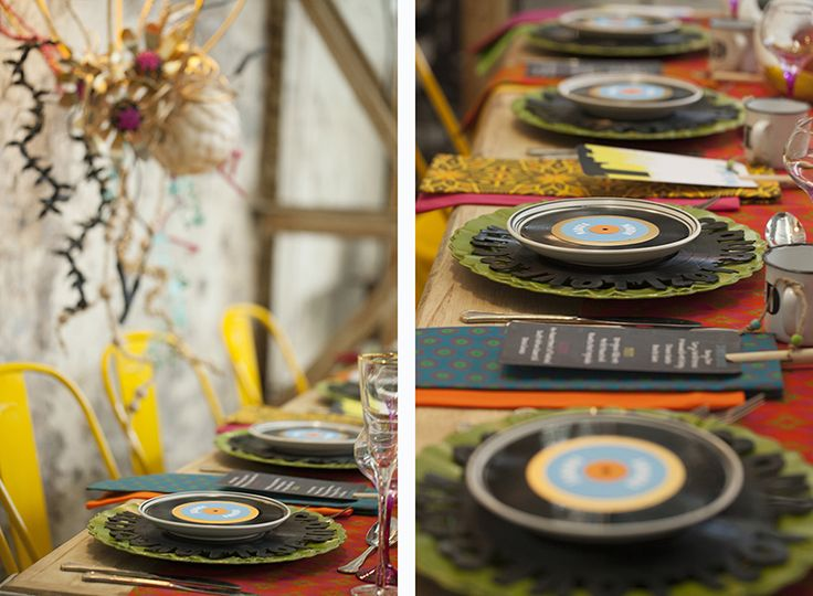 Johannesburg City of Gold Styled Shoot - see more South African homegrown inspiration on www.ninirichi.co.za - Tablescape