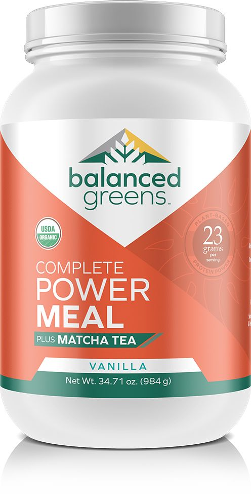 Packed with 23 grams of raw plant protein, matcha tea and much more. Featuring the best plant protein, Dr. Cindy Schmillen N.D. Ph. D ENERGY FOOD FORMULA since 1990 (now called Total Health), Matcha Tea, Rhodiola, Omegas, Probiotics, naturally occurring enzymes and prebiotics–this power mix is the choice of athletes, those watching their weight, or who just need a balanced meal on the go. This naturally filling formula satisfies hunger, amplifies health and provides jitter-free energy.