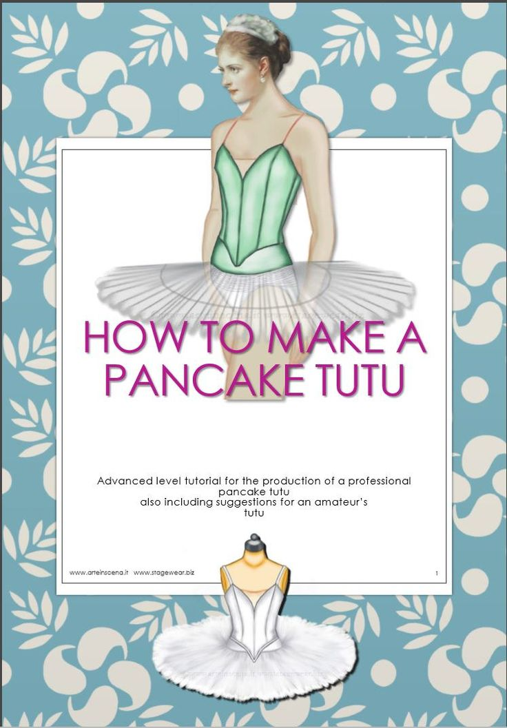 Pancake tutu, patterns plus tutorial                                                                                                                                                     More