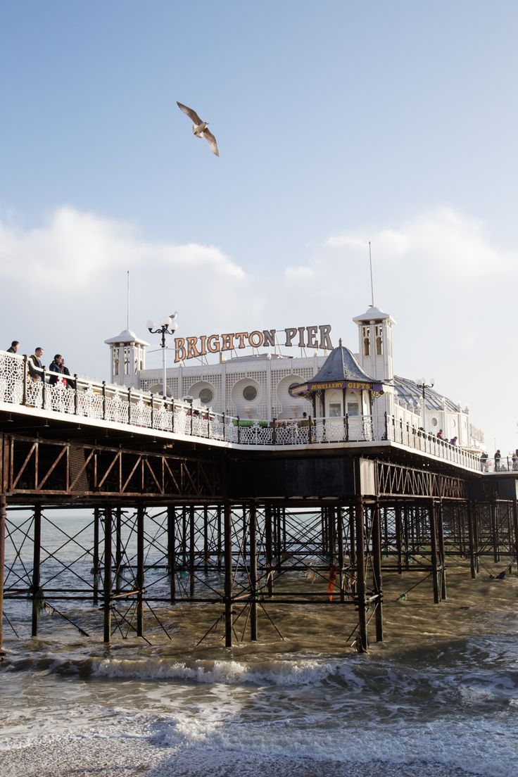 Brighton Pier, holds special memories of happy times with my brother <3  I will always think of him there.