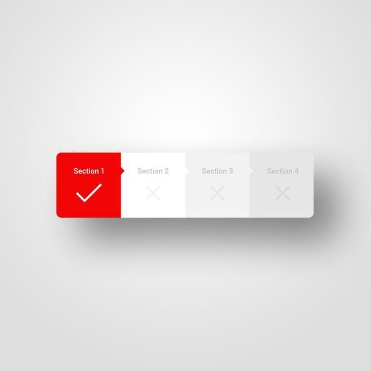 User interface design – Daily UI – 086 – Progress Bar
