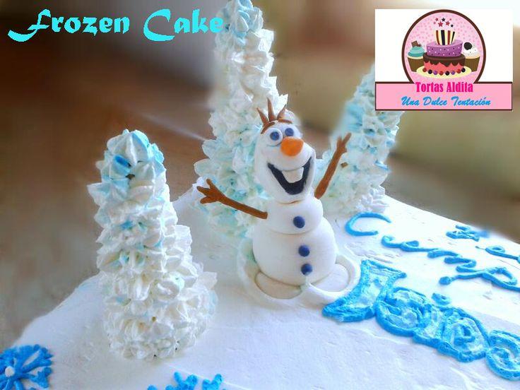 Frozen B-day Cake