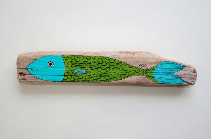 Die besten 25 treibholz fisch ideen auf pinterest kunst for Tonscherben deko