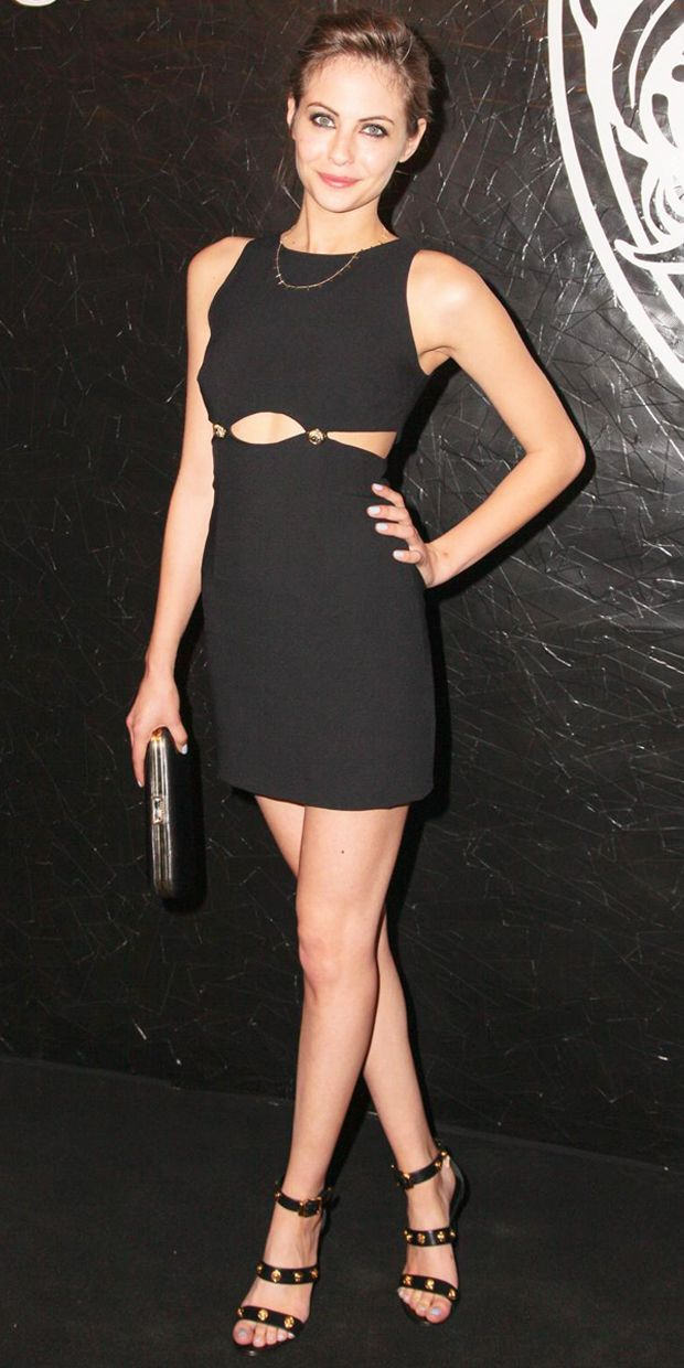Willa celebrates with an LBD.