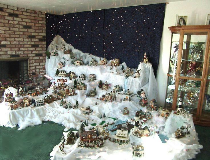 1748 best Christmas Village Displays images on Pinterest ...