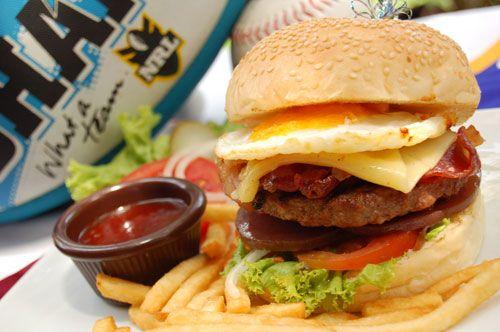 Stadium Cafe Jl. Kartika Plaza Phone. +62 361 763 100