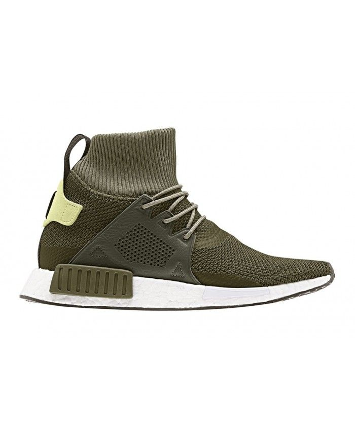 f379a9d5084fa Cheap Adidas Originals Junior NMD Xr1 Winter Olive Dark Grey Shoe ...