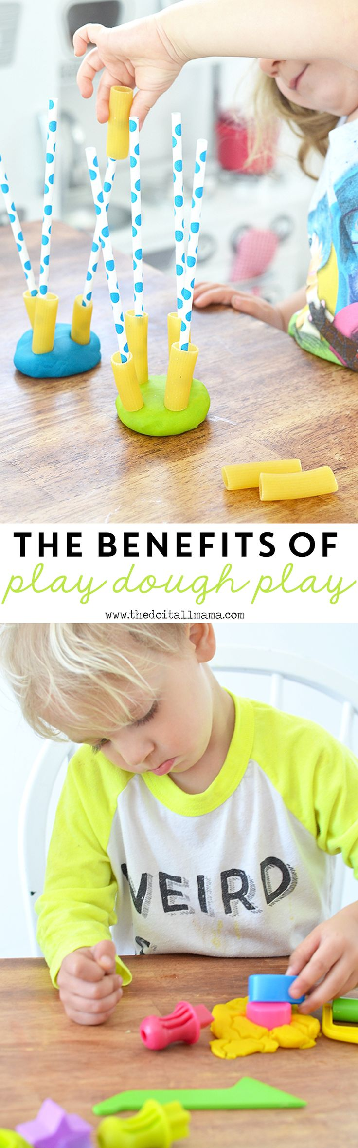 Everyone loves play dough, but did you know that it's also good for growth and development, too? Here are the benefits of play dough fun with ZDough!