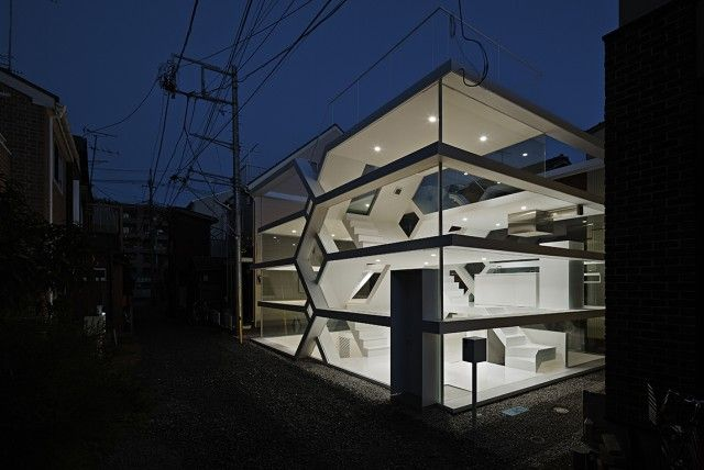 transparent house Japan